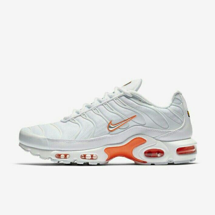 TN SE White Orange Nike Tn 2e9aa8425d