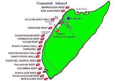 Palancar reef palancar gardens where i got certified - Cozumel dive sites ...