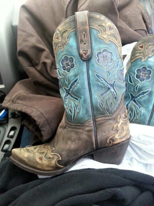 Cowgirl Boots Country In Aqua Turquoise Amp Teal Boots