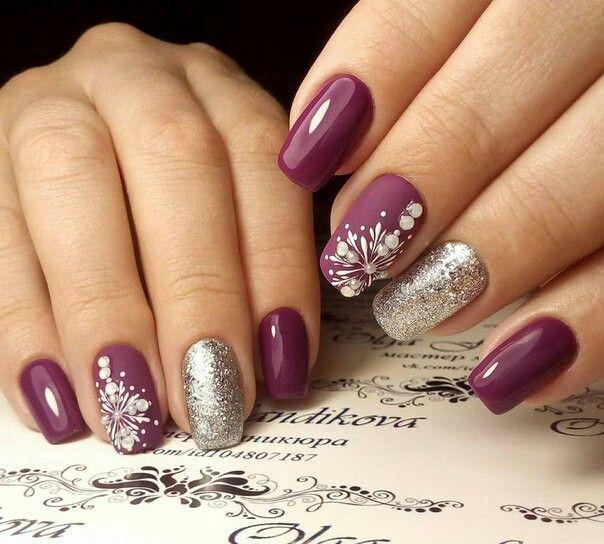 Pin de A Marisol Villalon FV en Uñas | Pinterest | Diseños de uñas ...