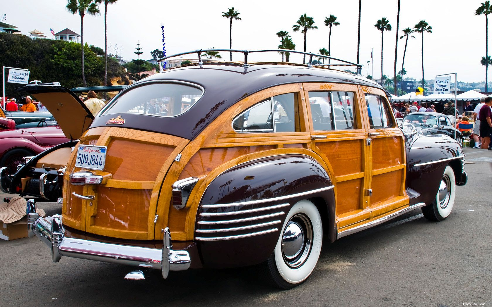 1942 Chrysler Town Country Barrel Back Station Wagon Classic