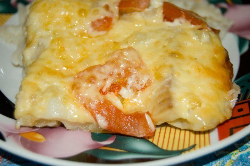 рыба красная с сыром в духовке рецепты с фото
