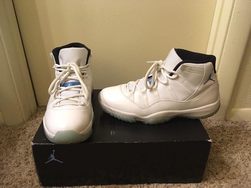 c41c78332856b7 Jordans Ledgend Blue 11s  fashion  clothing  shoes  accessories  mensshoes   athleticshoes (ebay link)