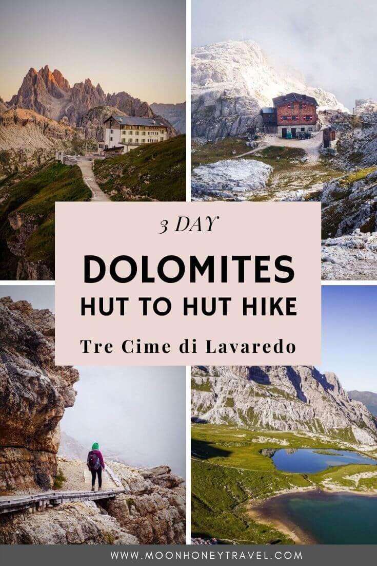 Trekking Tre Cime Di Lavaredo: 3 Day Hut To Hut Hike In