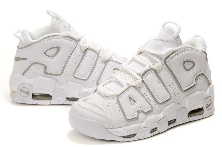 Nike Air More Uptempo Scottie Pippen Shoes WhiteGrey
