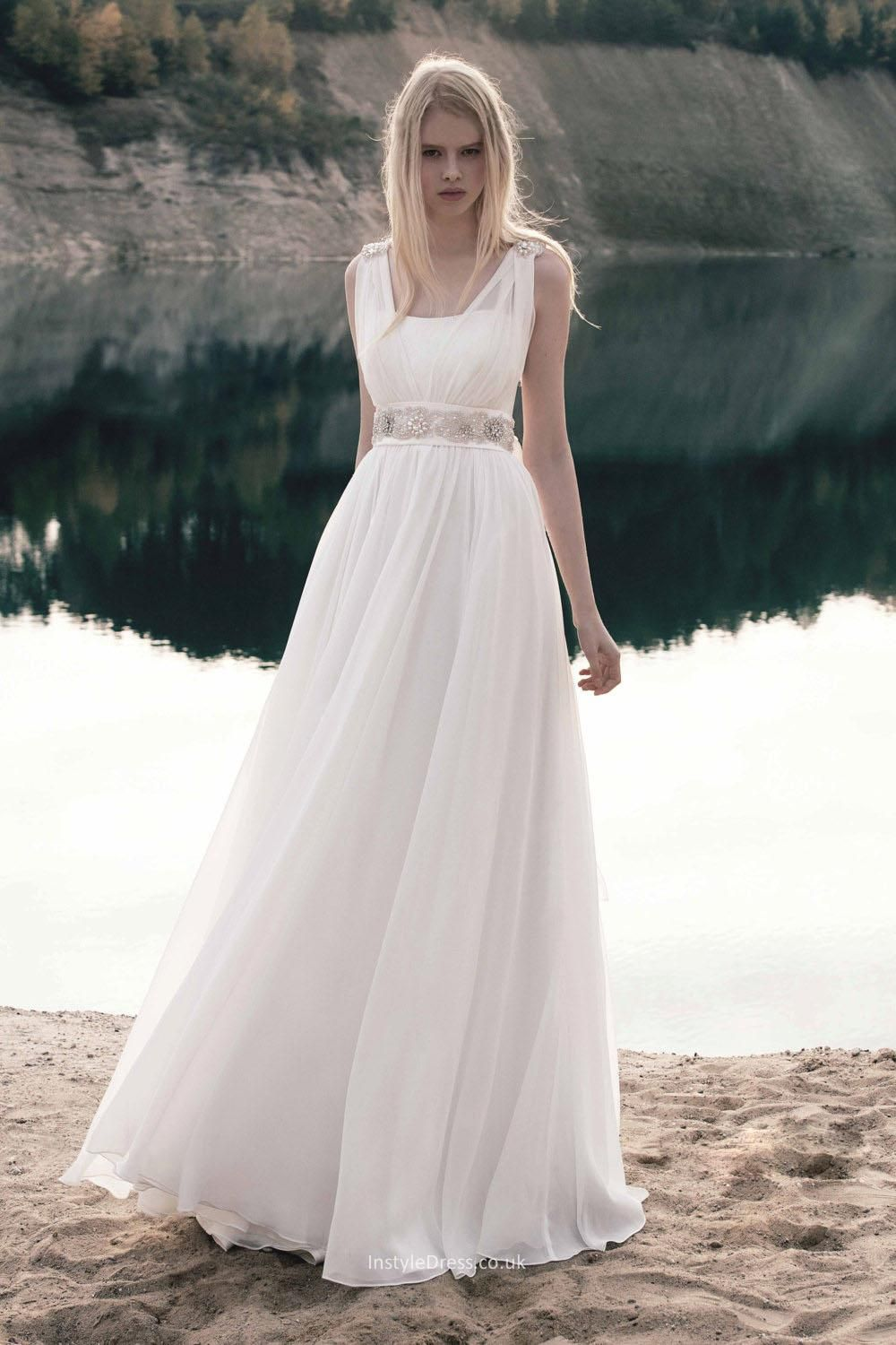 Floor Length Informal Wedding Dresses