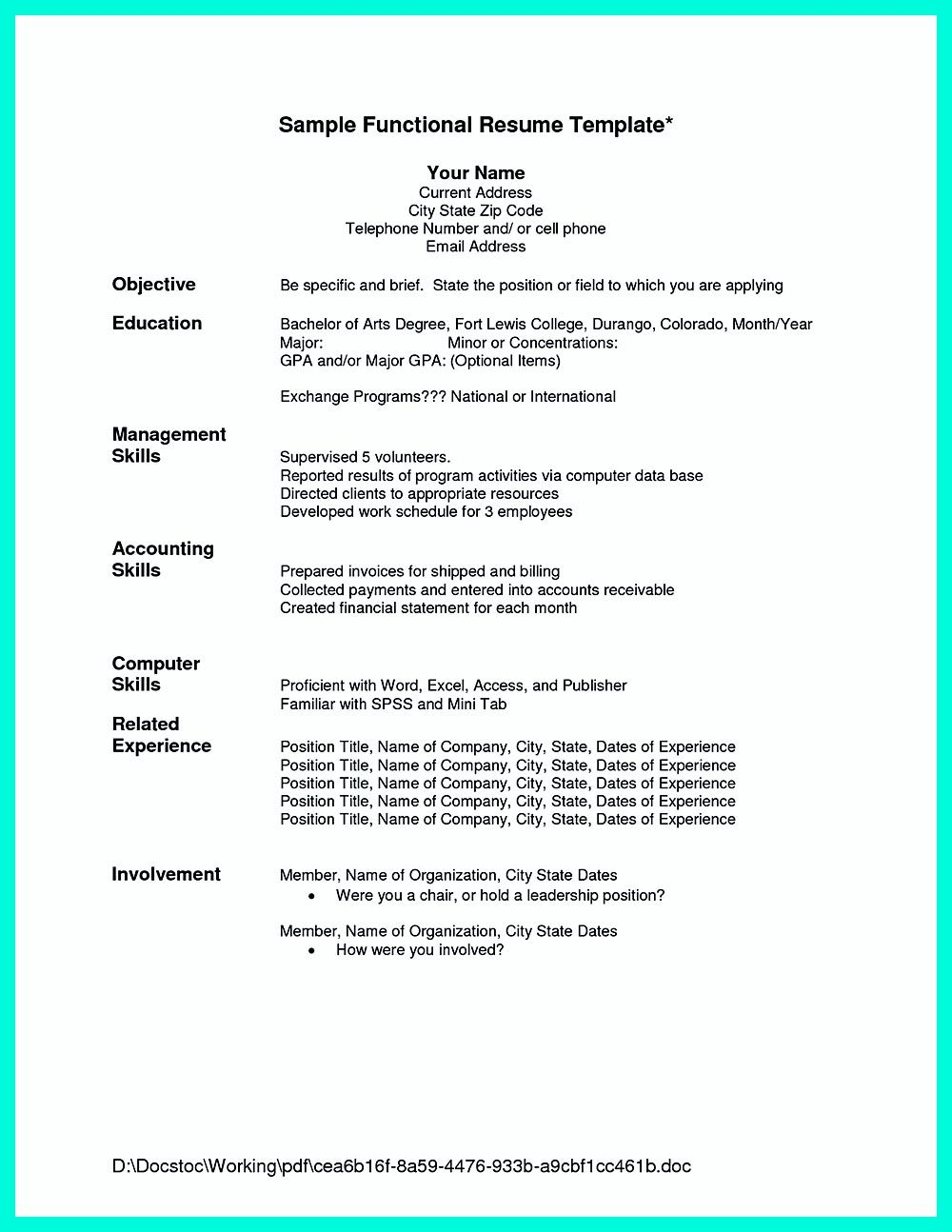Sample Chronological Resume Chronological Resume Is Neededpeople In Making Them Understand