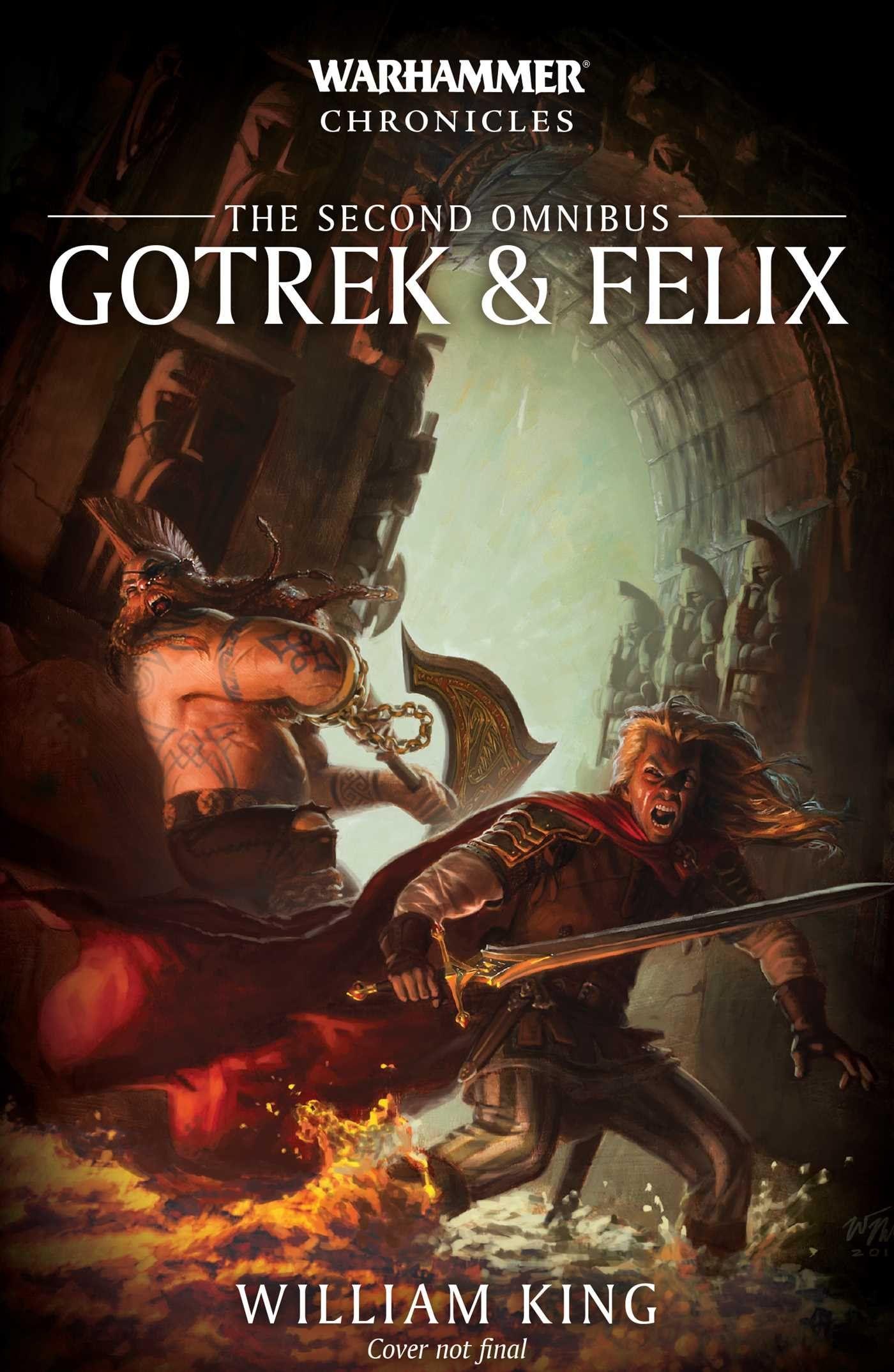17++ Gotrek and felix book list info