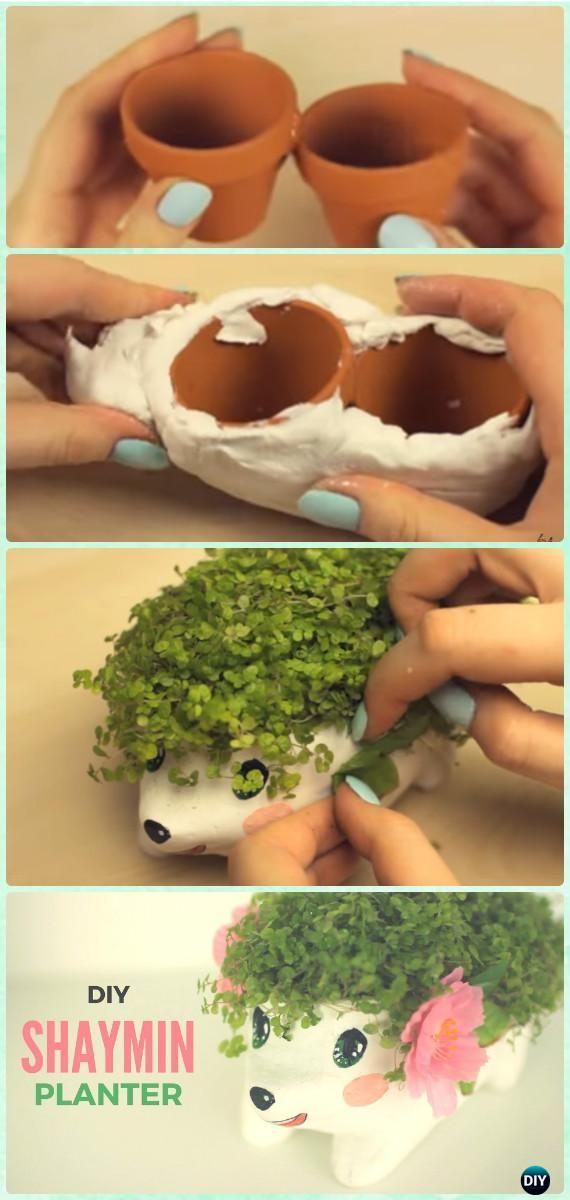 Terracotta Clay Pot Hedgehog Planter DIY Clay Pot Garden Craft Projects [Video]