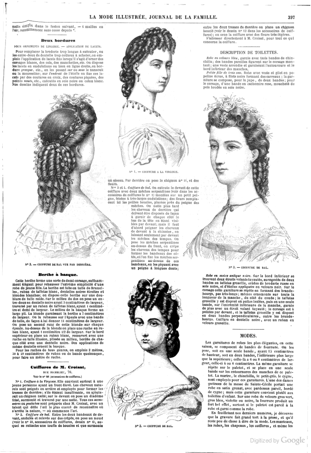 La Mode illustrée: journal de la famille - Google Books December ...