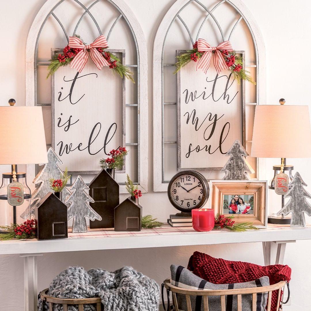 farmhouse christmas decor hobby lobby