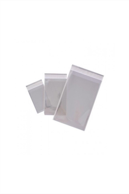 45 x 32 cm, pl/ástico Autoadhesivo Transparente Paquete de 100 Bolsas A3 ACAMPTAR