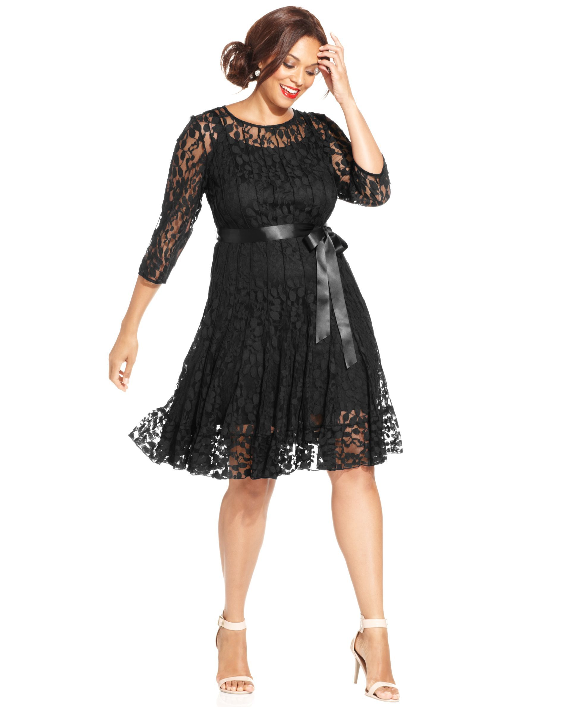 If it only came in off white or brown httpwww1cysshop msk plus size illusion floral lace dress shop all wedding dresses women macys ombrellifo Images