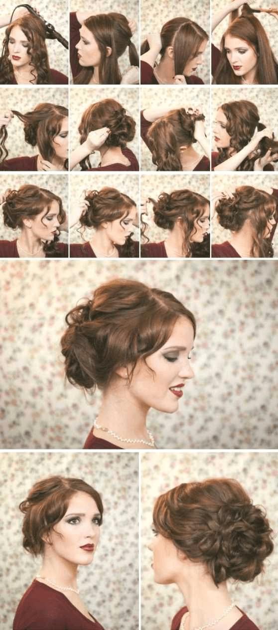 Frisuren Lange Haare Locken Anleitung Locken Frisuren Für