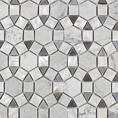 Access Denied Marble Mosaic Moonstone Marble Tile Pearl Tile