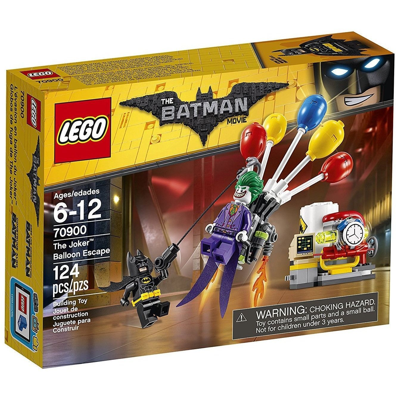 BATMAN MINIFIGURE SPLIT FROM SET 70900 LEGO DC COMICS BATMAN MOVIE
