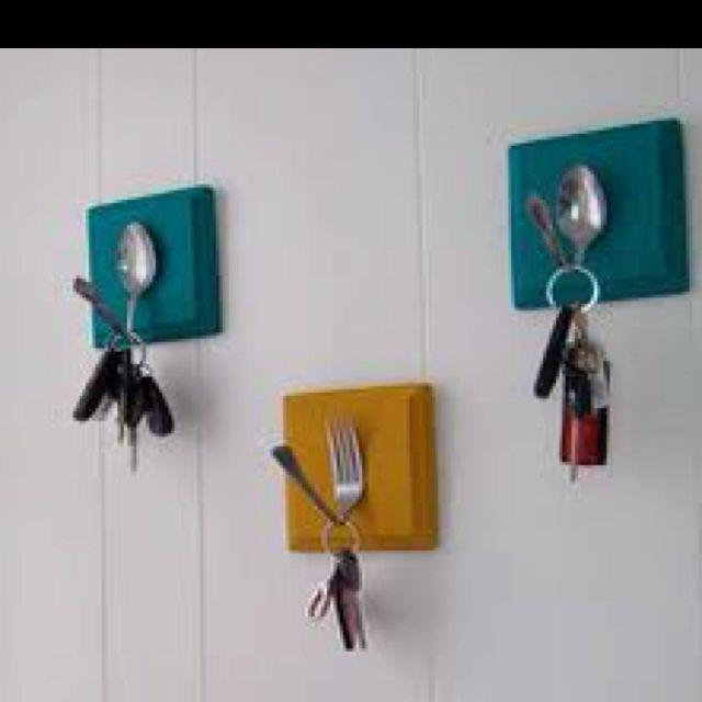 Awesome key holders