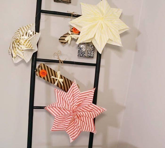 Så nemt kan du folde en dekorativ stjerne | Boligmagasinet.dk