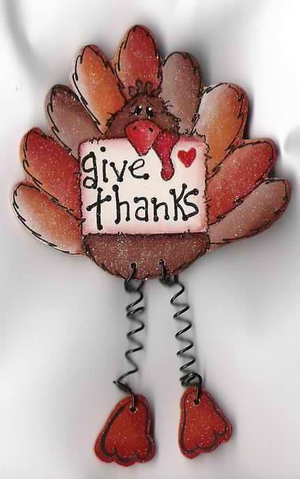 Cute thanksgiving turkey craft