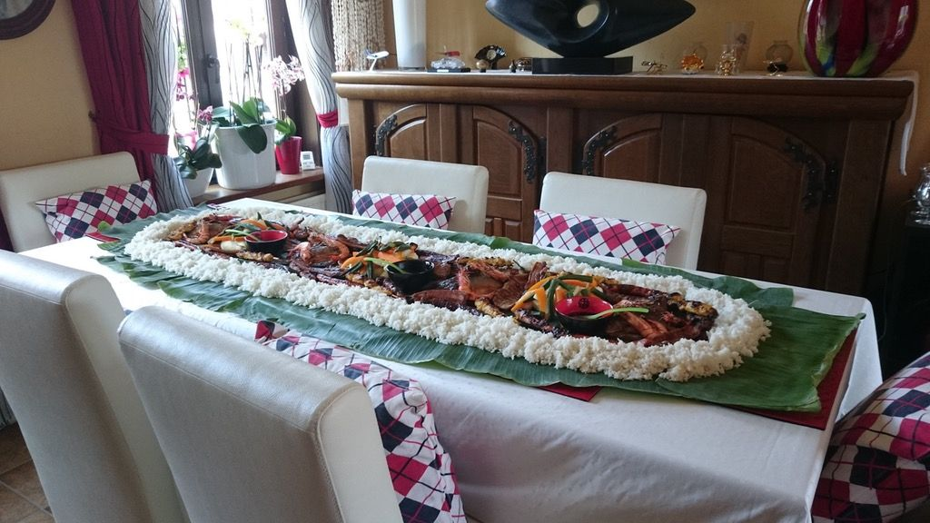 Had A Filipino Boodle Fight Experience Food