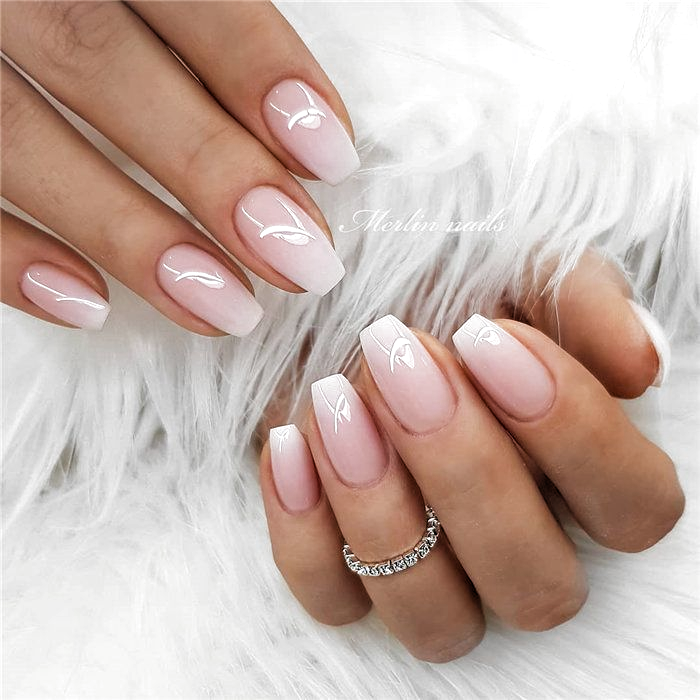 70 Naturliche Gelnagel Pro Hochzeit Bridal Gestaltung Ideas 20 Bridal Design Gelnagel Hochzeit Ideas In 2020 Natural Gel Nails Cute Gel Nails Ombre Nail Designs