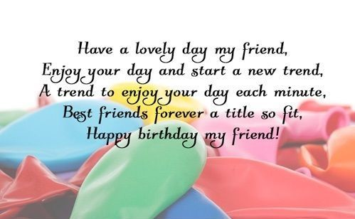 Friend Happy Birthday Wishes Cards Messages Quotes Pictures
