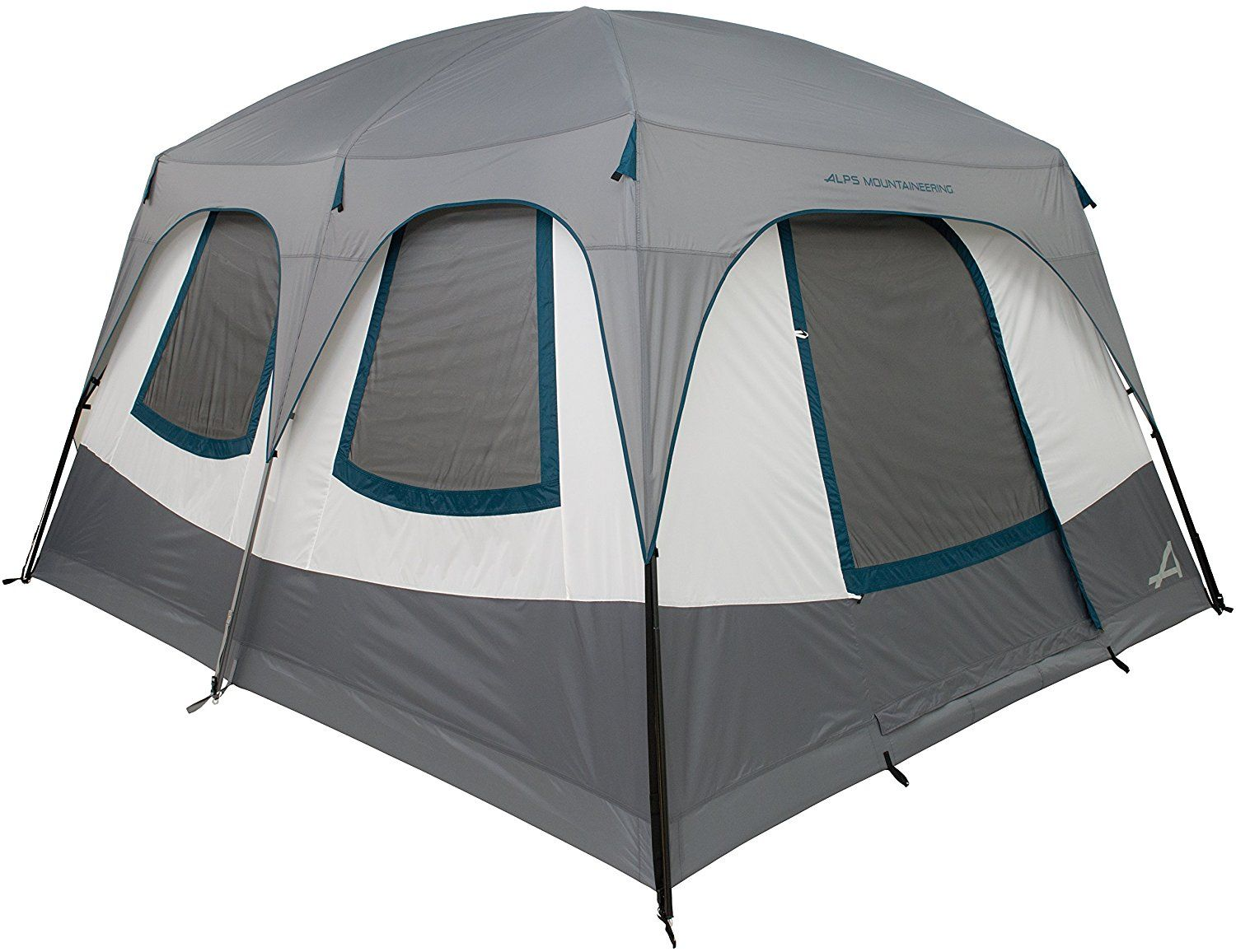 ALPS Mountaineering C& Creek 6 Two Room Tent 6-Person 3-Season Tent  sc 1 st  Pinterest : 6 room tent - memphite.com