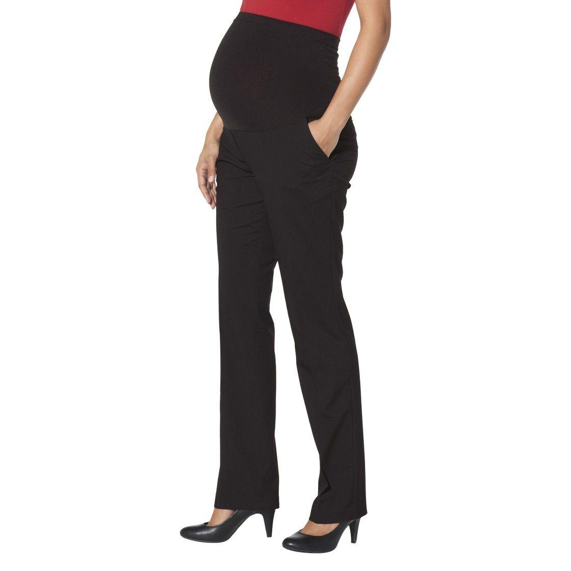 Maternity Straight Leg Pants Black Liz Lange For Target Maternity Pants Black Maternity Pants Target Maternity [ 1120 x 1120 Pixel ]