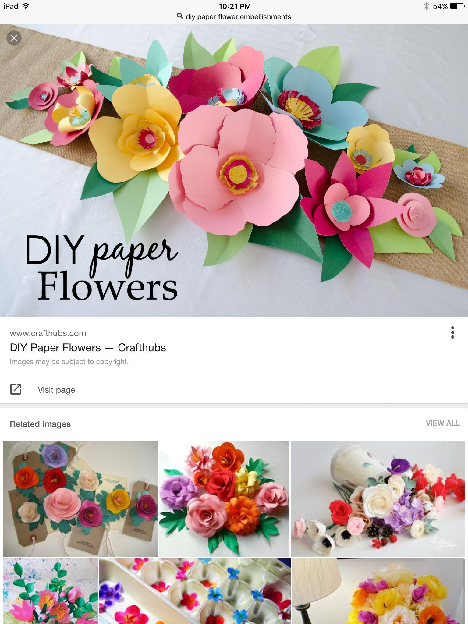 Dig Flowers Flower Making Pinterest Cricut Cricut Ideas And