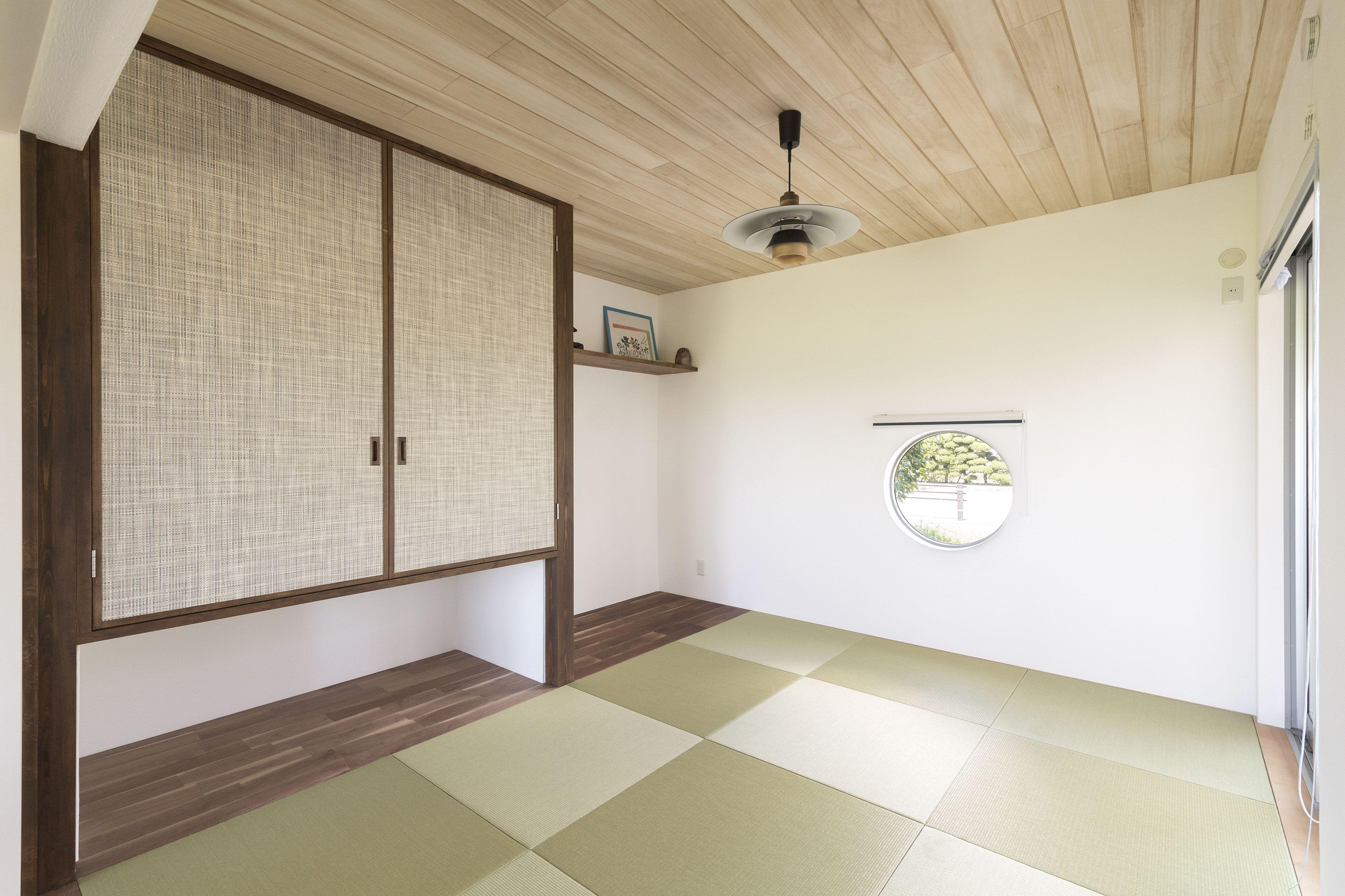 ケース81 和室 天井 無添加住宅 リフォーム アイデア