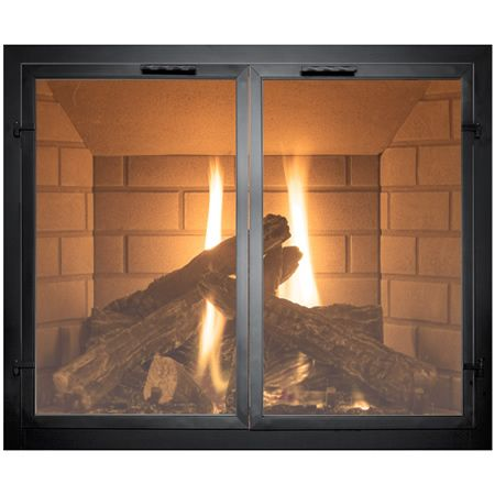 Normandy Fireplace Door Woodlanddirect Fireplace Glass Doors