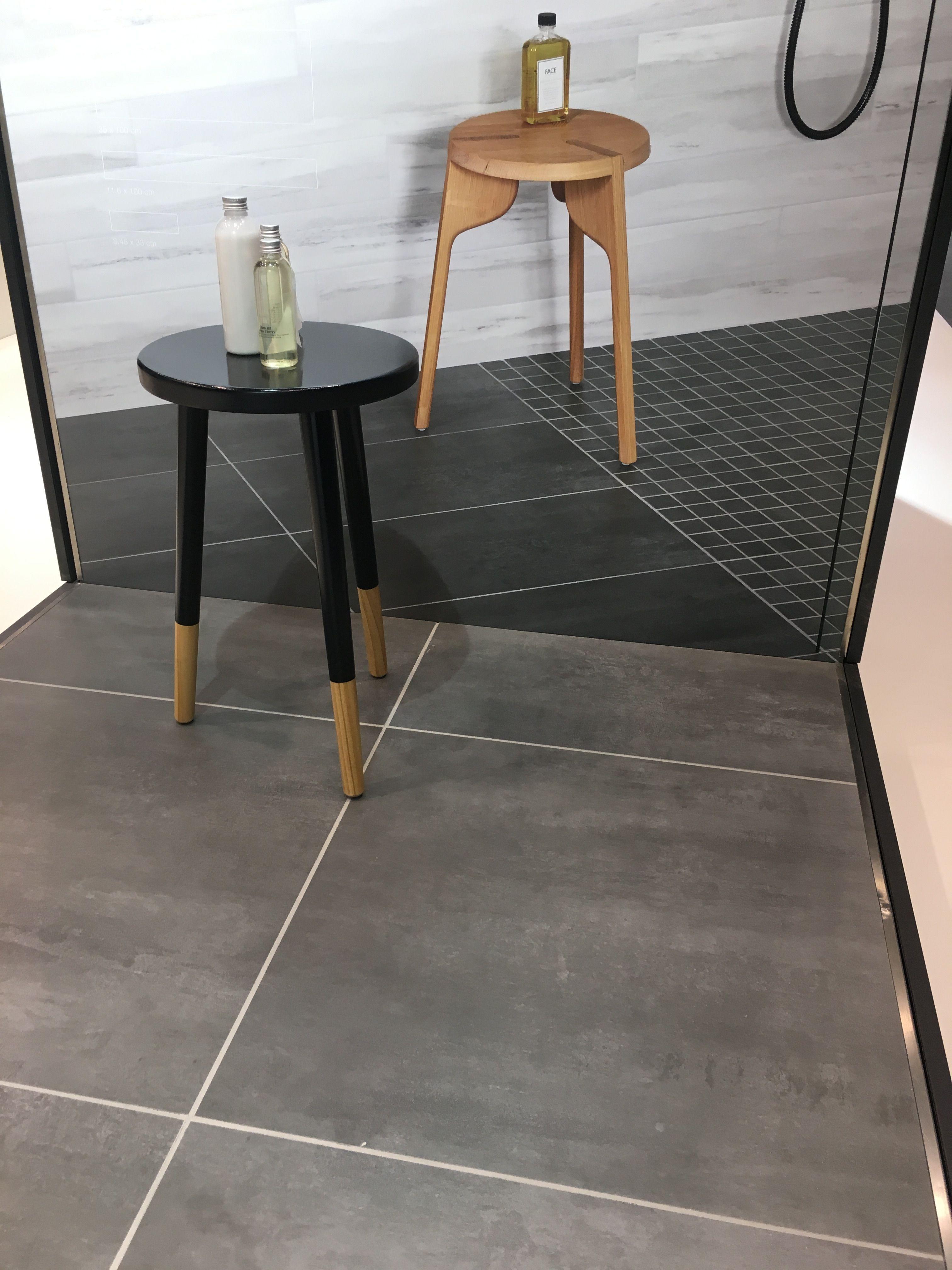 Messeneuheit Von Agrob Buchtal Serie Lasa Cemento Moderne