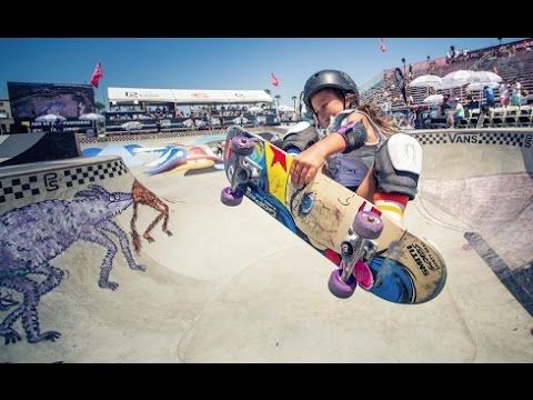 8 year old vans skater