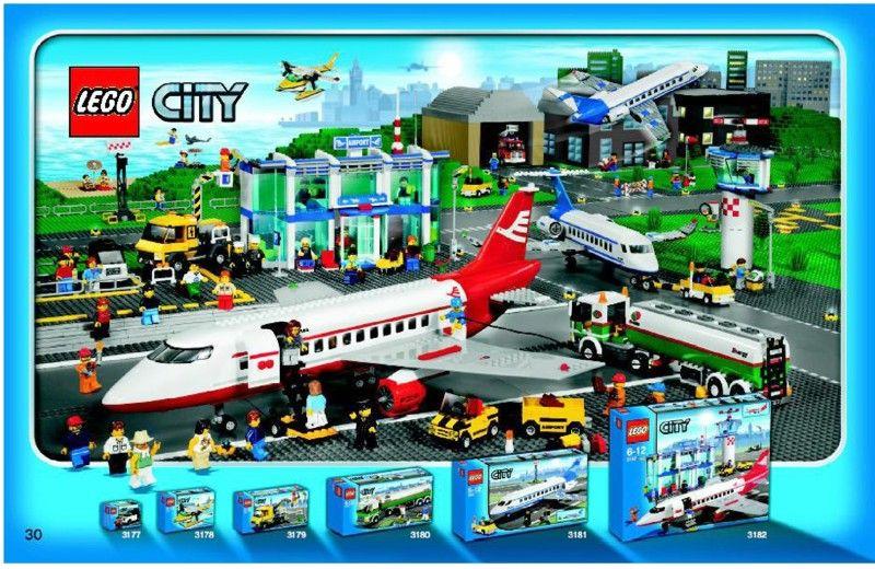 Lego City Airport Instructions 3182 City Lego City Airport Airport City Lego