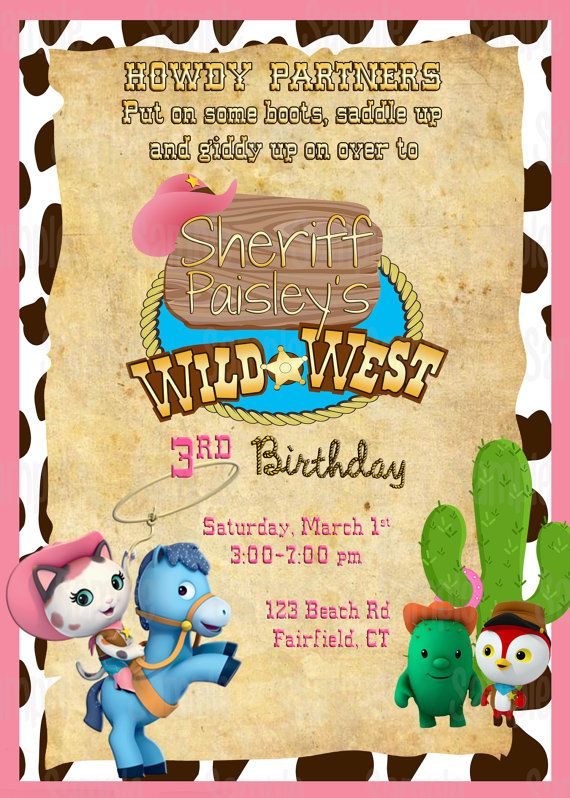 Wild West Insipred Birthday Party