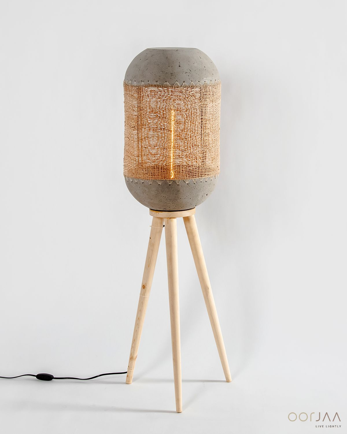 Banana Fibre Mesh Floor Lamp Gif Let this symbol of natural beauty brighten up your space, at home, office or hospitality. Visit our store today to explore this and more! . . . .