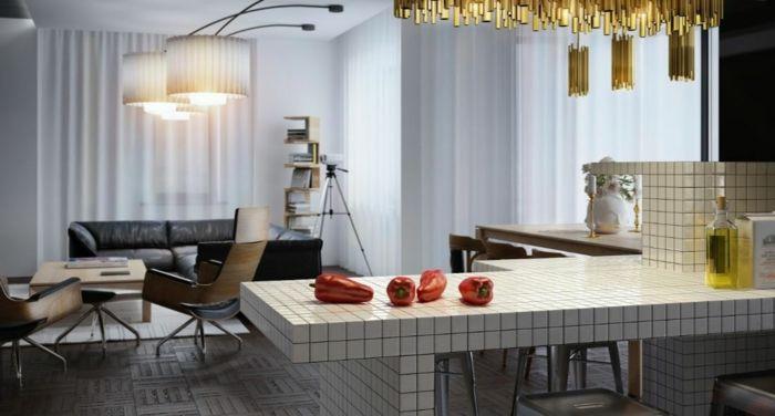 awesome küchengestaltung idee einrichtungsbeispiele deko ideen küche - deko ideen küche