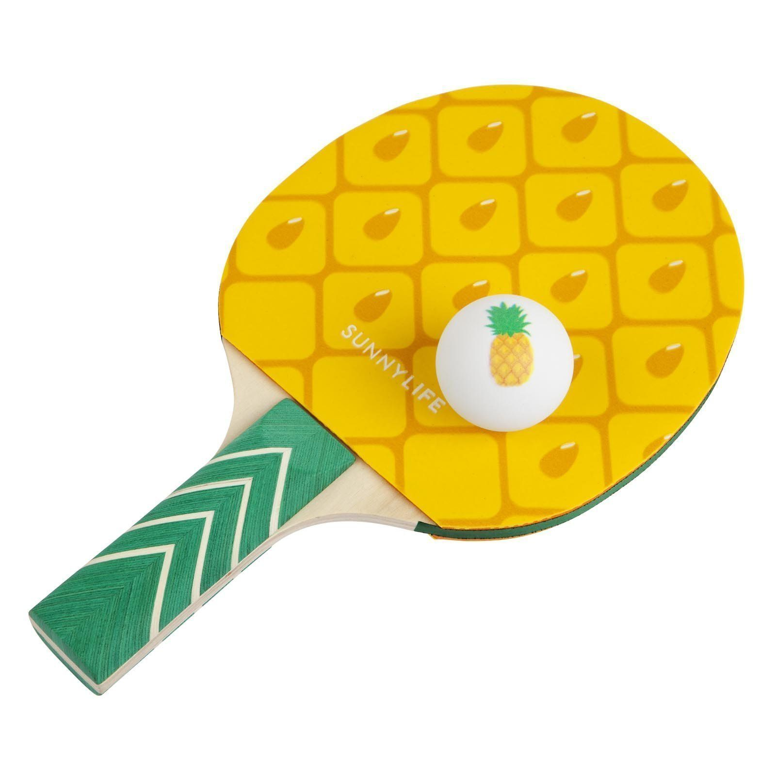 Sunnylife Table Top Tennis Game Ping Pong Set For Kids And Adults Pi Timely Buys Ping Pong Pineapple Baby Shower Tennis Games