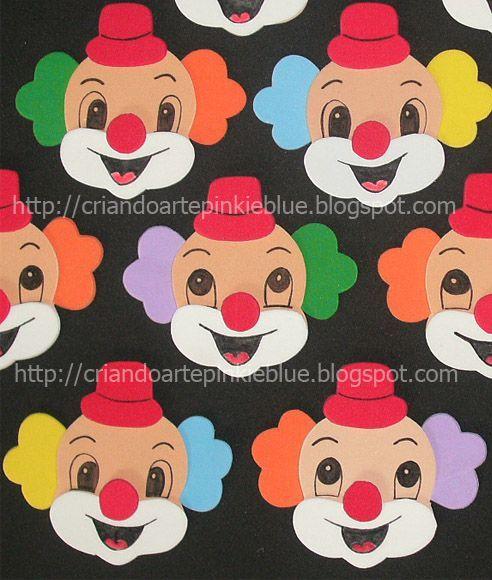 Pinkie Blue Party liefert: Clownsgesichter von e.v.a. - Pinkie Blue Party liefert: Clownsgesicht... - #blue #clownsgesichter #eva #liefert #party #pinkie #von