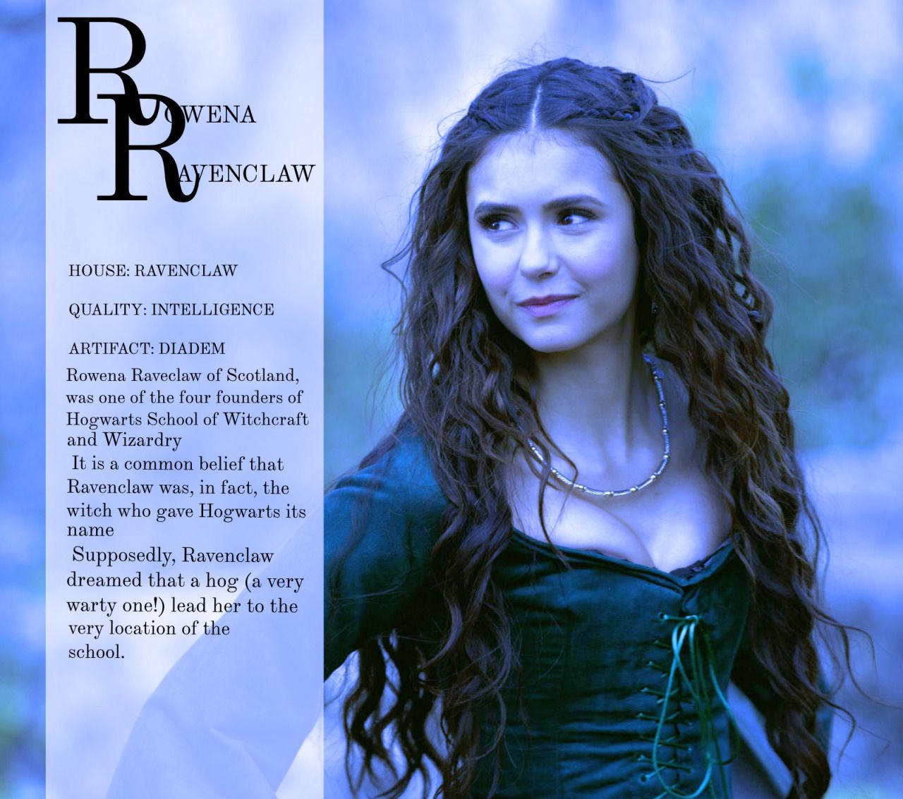 Hogwarts founders rowena ravenclaw ravenclaw for Harry potter ivy wand