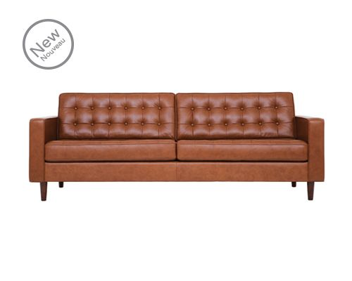 Leather Eq3 Upholstery Reverie Sofa 37095 01 Leather Sofa Apartment Sofa Living Room Pieces