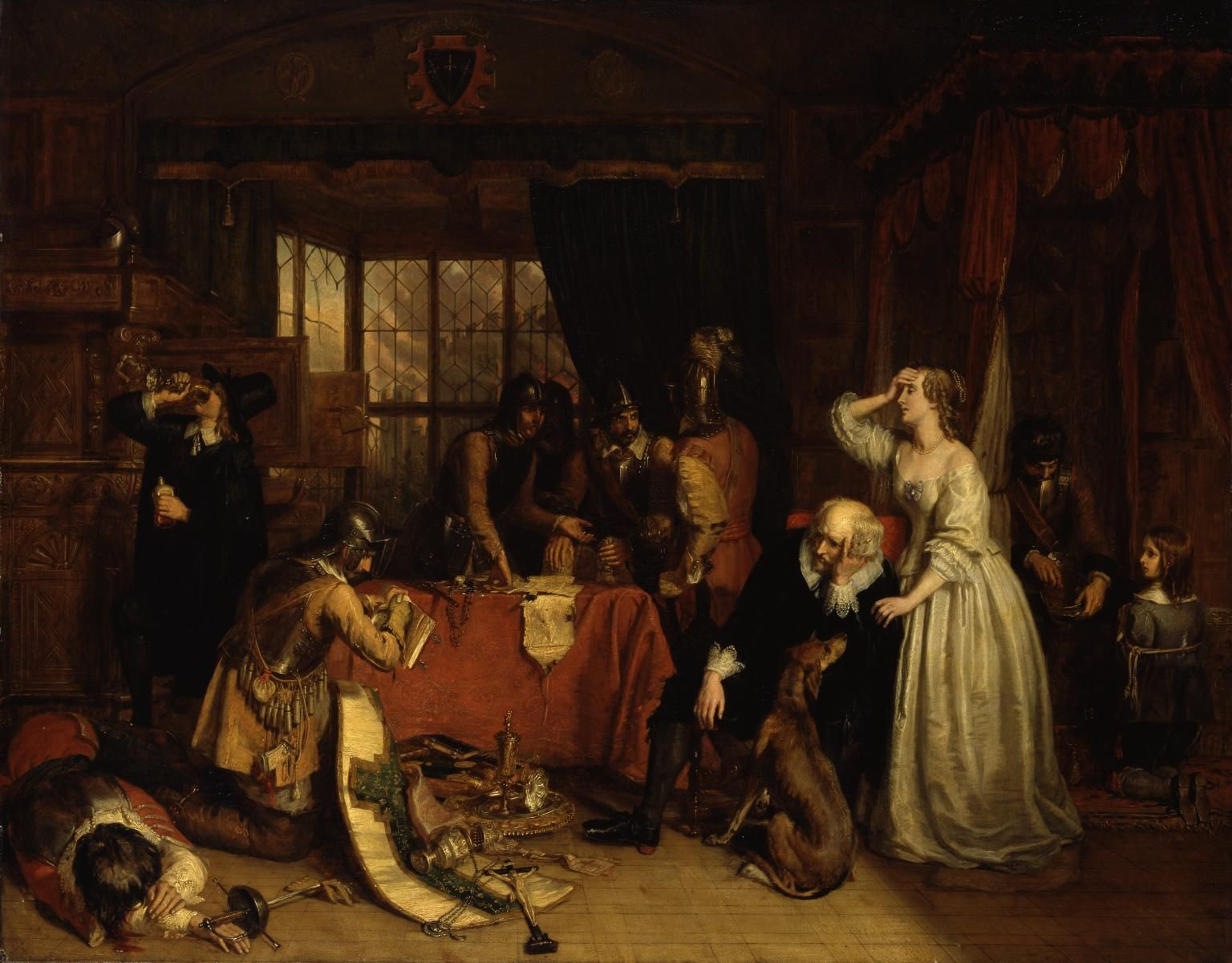 The Storming of Basing House, 1645