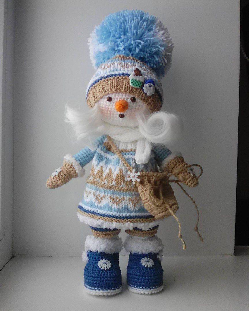 Pin von bhbyf auf Вязание | Pinterest | Häkeltiere, Puppe und Puppen