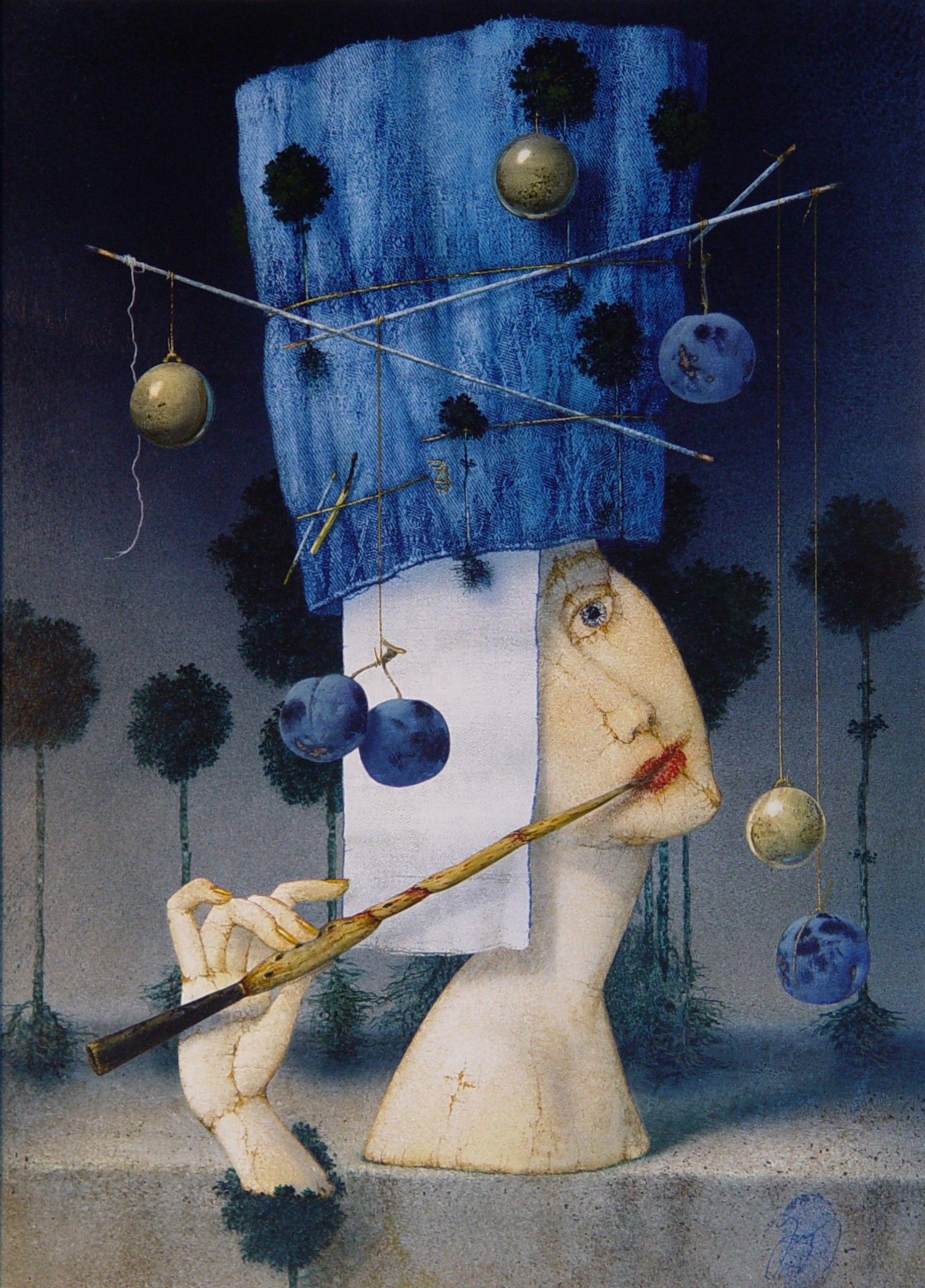 Zdenek Janda Portfolio Obrazy Projecten Blauw Projecten Om Te Proberen