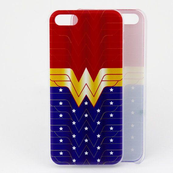 Wonder Woman Redblue Star iphone case