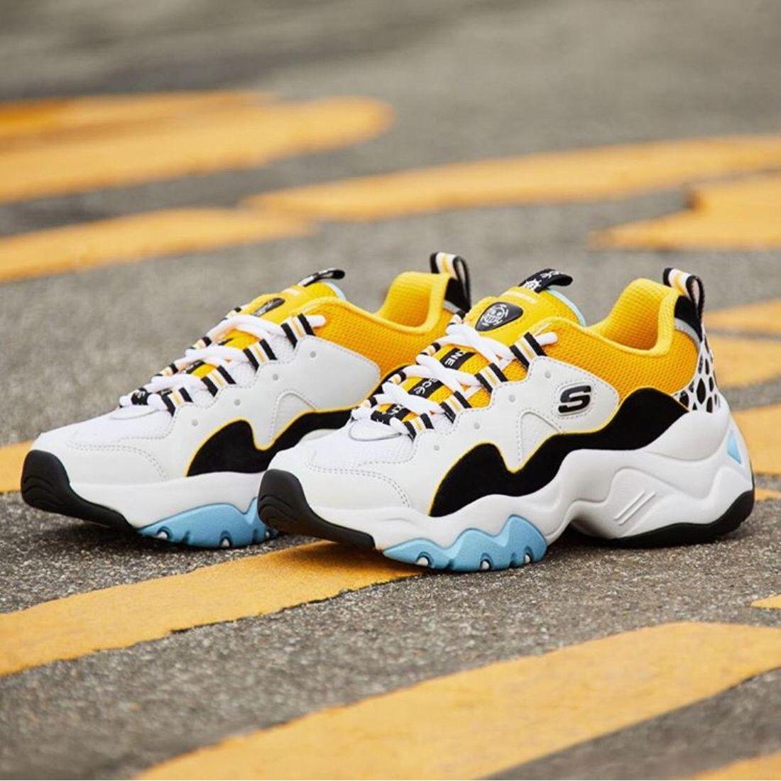 Skechers Shoes Men Platform Casual Shoes D'lite Comfortable