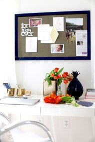 How to Decorate Your Desk + A BIG GIVEAWAY! - Style Me Pretty Living