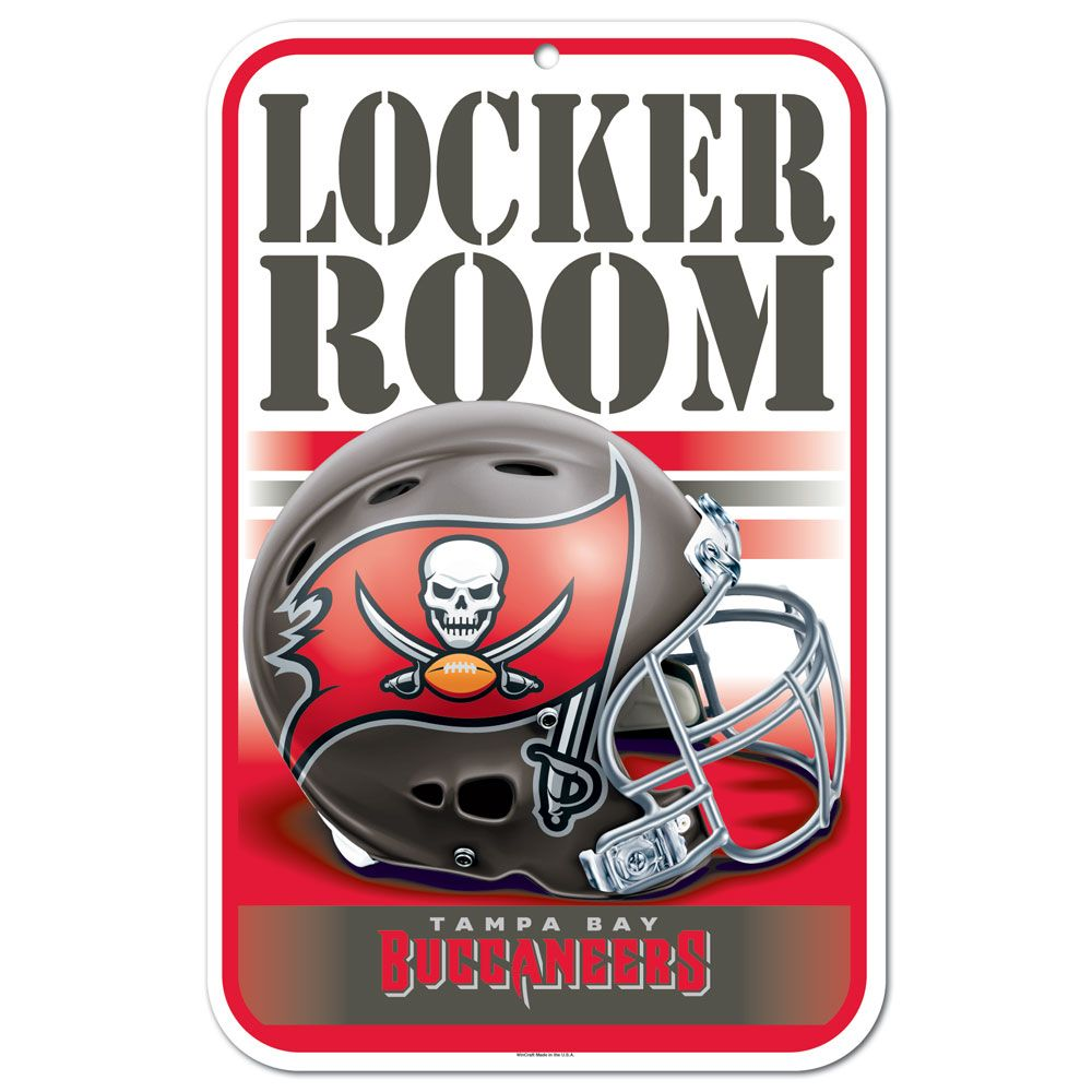 Bucs - Official Online Store - Buccaneers Locker Room Sign e8e98544fac