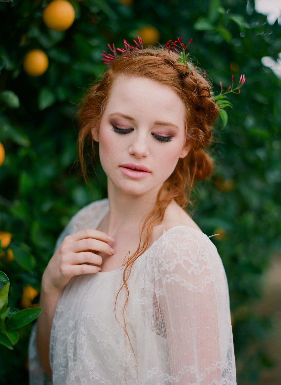 Pin by Roger on Reds 21 Wedding makeup redhead, Redhead