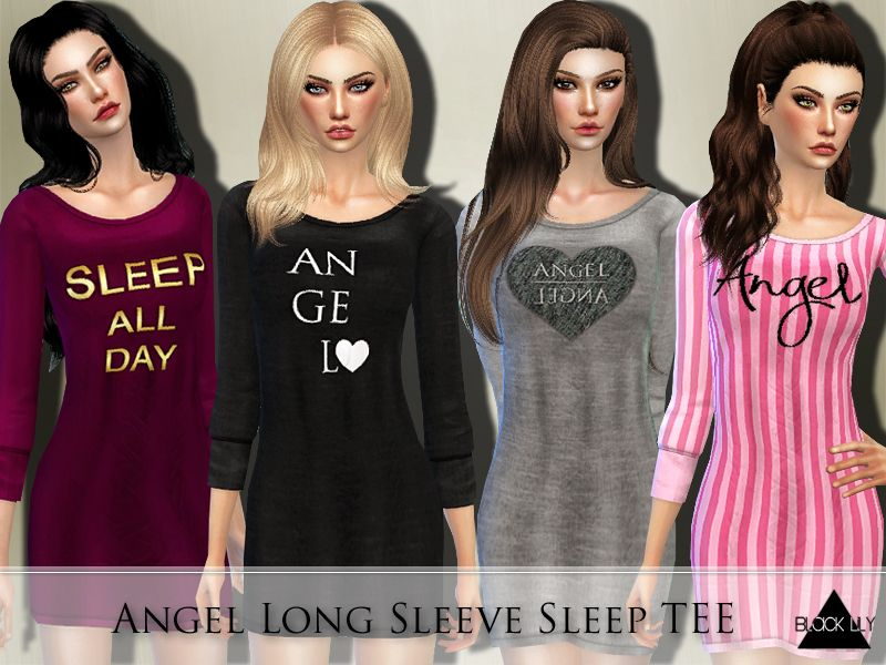 YA/A/Teen Found in TSR Category 'Sims 4 Female Sleepwear'   sims 4